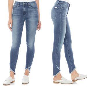 Joes Charlie High Waist Tulip Ankle Skinny Jeans